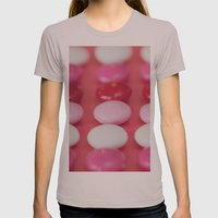 Dot, dot, dot . . . . Womens Fitted Tee Cinder SMALL