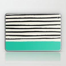 Mint x Stripes Laptop & iPad Skin