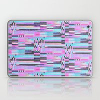 Pink lines of chalk Laptop & iPad Skin