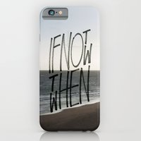 iPhone & iPod Case featuring if not now by Jordan Alanda