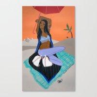 Cocoon Canvas Print