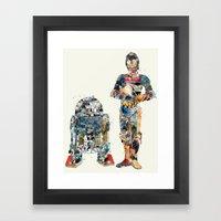 modern wars 1 Framed Art Print