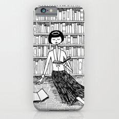 She just wanted to read books and do nothing else iPhone 6s Slim Case