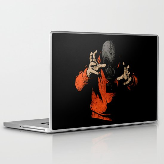 Black Light Laptop & iPad Skin