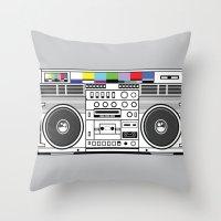 1 kHz #3 Throw Pillow