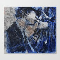 Passionate Love Canvas Print