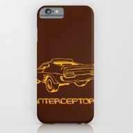 iPhone & iPod Case featuring Interceptor by Mangulica