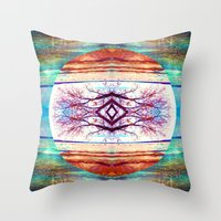 high tides are among us Throw Pillow