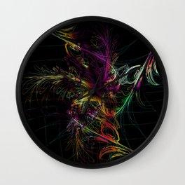 Wall Clock - fantastic fireworks - donphil