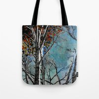 Land of the Silver Birch Tote Bag