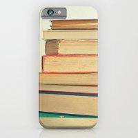 Stack Of Books iPhone 6 Slim Case