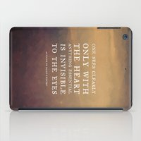 IV. Anything essential is invisible to the eyes. iPad Case