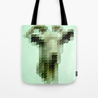 The Goat That Stares at Men Tote Bag