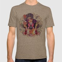 What divination do you use? Mens Fitted Tee Tri-Coffee SMALL