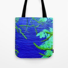 Blue Nature Tote Bag