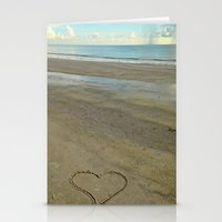 Beach Love Stationery Cards