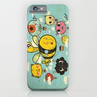 iPhone Cases featuring 飞行者 HapPig Flight/The HapPig Voyagers by Pigologist