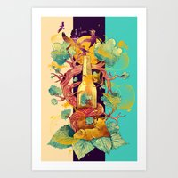 Natural Cycle Art Print