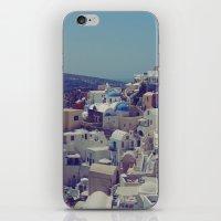 Oia, Santorini, Greece II iPhone & iPod Skin