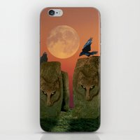 Wolfhenge iPhone & iPod Skin