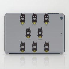 Men of Bats iPad Case