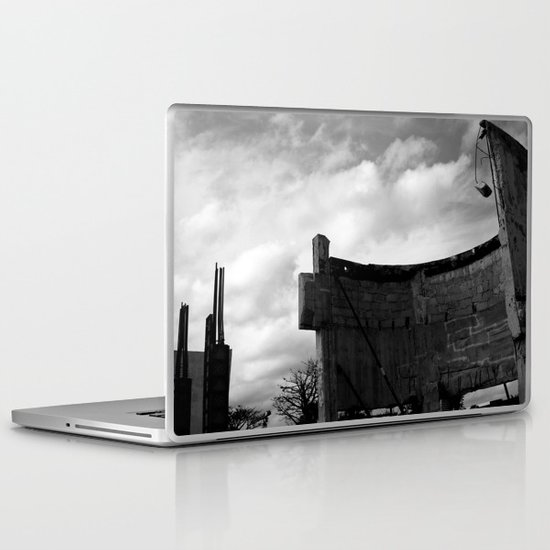 Damaged Deco Laptop & iPad Skin