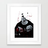 Pete Framed Art Print