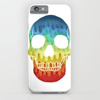 Paper Skull iPhone 6 Slim Case