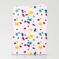 Happy Confetti Stationery Cards