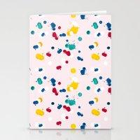 Happy Confetti Stationery Cards