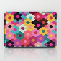 Honeycomb Blooms iPad Case