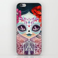 Amelia Calavera - Sugar … iPhone & iPod Skin