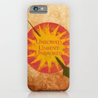 iPhone Cases featuring Game of Thrones - House Martell by MUSENYO