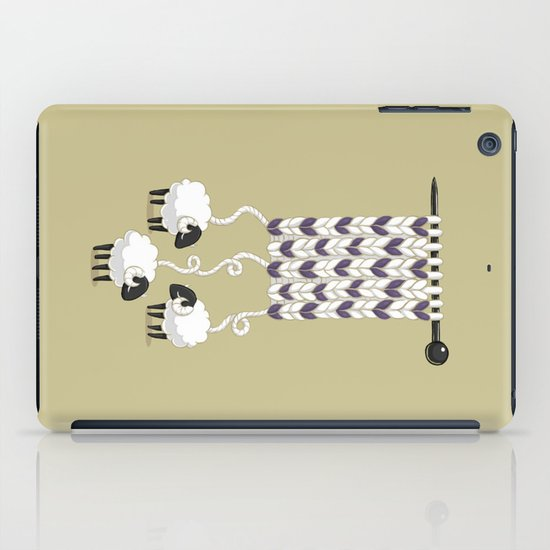Wool Scarf iPad Case