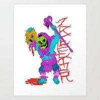 ZKELETOR (He-Dude) Art Print