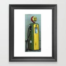 Gas Pump Framed Art Print