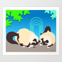 Crunch and Crumble Find a Bug Art Print