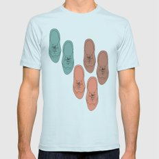 Oxfords Mens Fitted Tee Light Blue SMALL