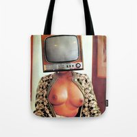 SEX ON TV - WOODY by ZZGLAM Tote Bag