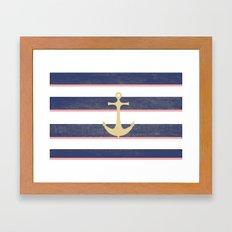 Anchor Away Framed Art Print