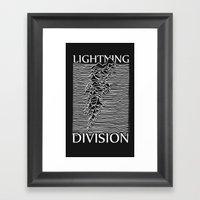 Lightning Division Framed Art Print