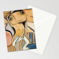 Les Demoiselles d'Avignon Stationery Cards