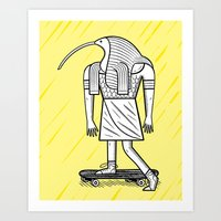 EGYPTiAN GODZ  ~ THOTH Art Print