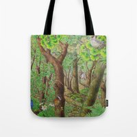 A Day Of Forest (2). (su… Tote Bag