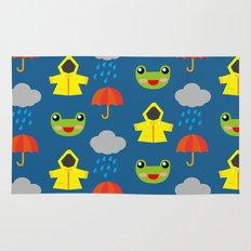 rainy days (Children's pattern) Rug
