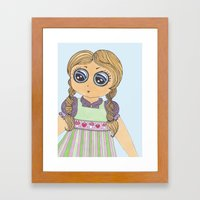 Lola Framed Art Print