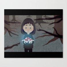 glowingmushroom Canvas Print