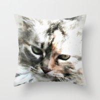 Darling 'Kitty' Throw Pillow