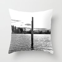 Scenic Solitude Throw Pillow