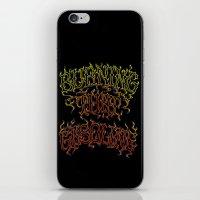 gasoline iPhone & iPod Skin